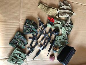 Lot 15pcs GI JOE Soldier 1//6 Custom Clothes Dress for 12/'/' Dragon BBI Doll