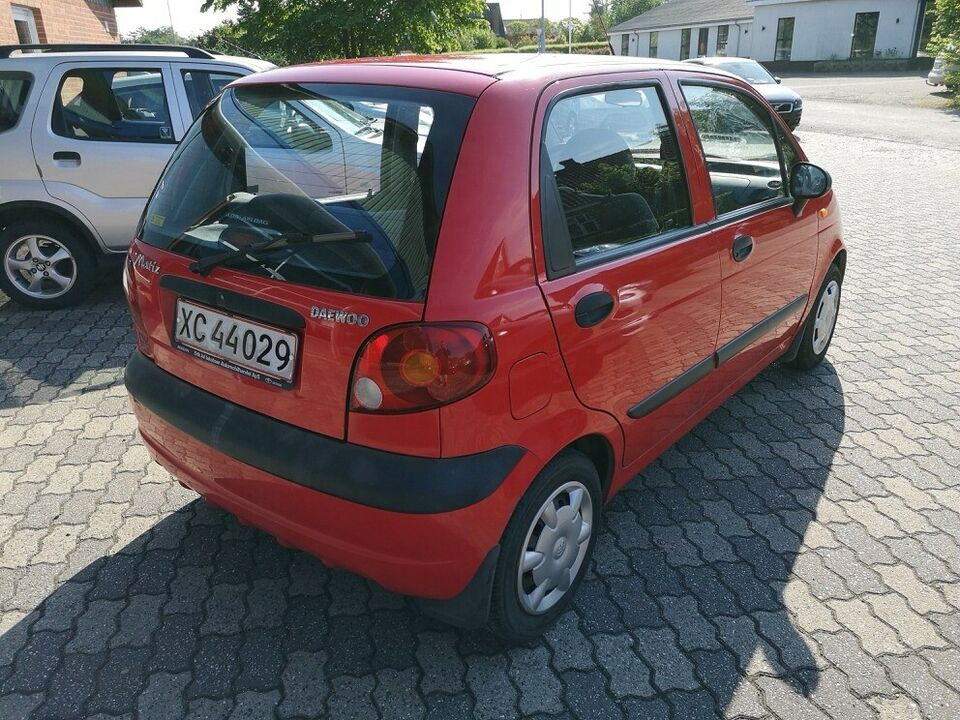 Daewoo Matiz 1,0 SE Benzin modelår 2004 km 92000 nysynet ABS