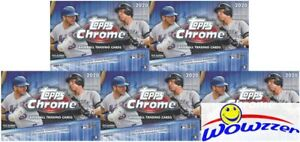 5-2020-Topps-Chrome-Baseball-EXCLUSIVE-Sealed-Blaster-Box-SEPIA-REFRACTORS
