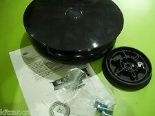 Plástico Negro Slimline Viento Giratorio Techo Van Ventilación, Perro, Caballo vehículo