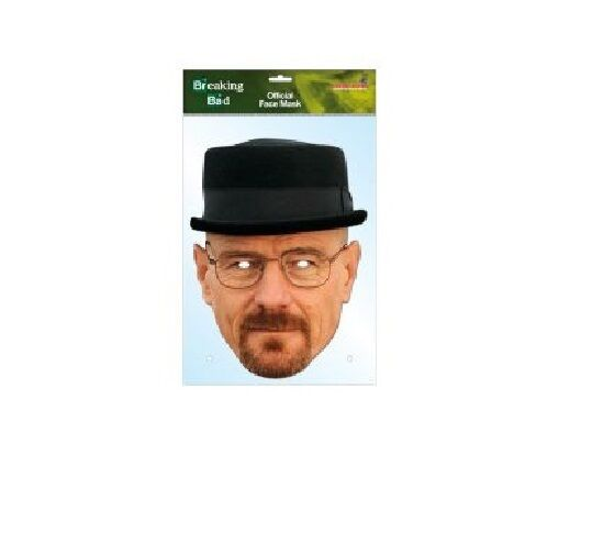NEW Official Breaking Bad Jesse Pinkman,Heisenberg,Gustavo Fring Party Face Mask