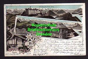 114787 AK Rigi Kulm Schwyz 1896 Litho Hotel Pension Rigi Staffel - Dresden, Deutschland - 114787 AK Rigi Kulm Schwyz 1896 Litho Hotel Pension Rigi Staffel - Dresden, Deutschland