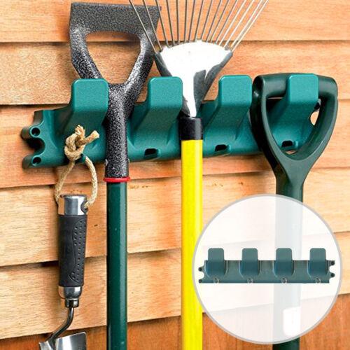 Wall Mounted Garden Toll Hanger Rack Tidy Shed Garage Workshop Organiser ee1