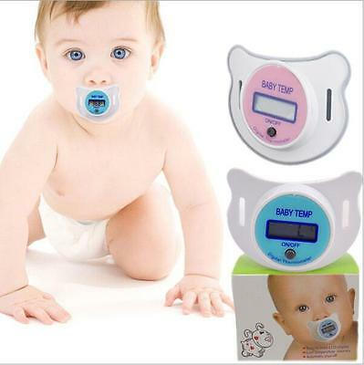 Baby Kid Child Electronic Pacifier Nipple Teat Soother Clinical Thermometer 0+