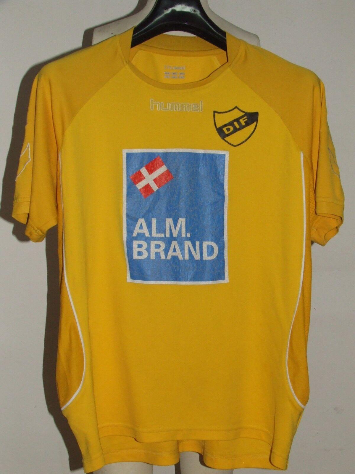 Fußballtrikot Trikot Maillot Maillot Maillot Camiseta Sport matchworn djurgardens Nr10 9e2e53