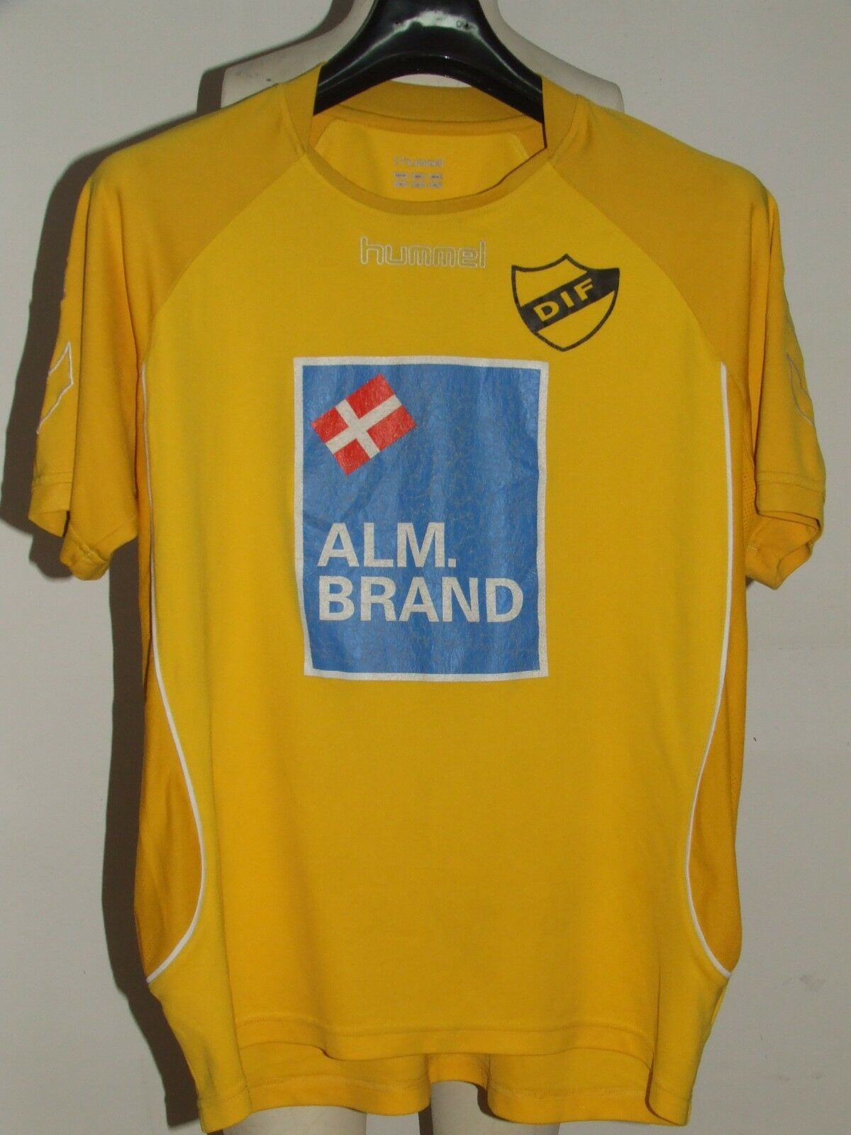Fußballtrikot Trikot Maillot Maillot Maillot Camiseta Sport matchworn djurgardens Nr10 4922a1