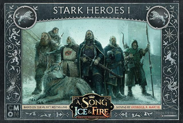A Song Of Ice And Fuego Fuerte Héroes 1 (Inglés) Cool Mini Or Not Hodor Westeros