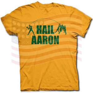 33858d2b Details about HAIL AARON RODGERS GREEN BAY PACKERS HAIL MARY PASS T SHIRT