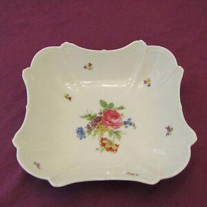 Plat creux en porcelaine - TIRSCHENREUTH - HUTSCHENREUTHER décor fleur lot N°1 8Y5j1mYs-09094101-167769284
