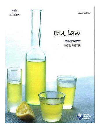 EU Law Directions by Nigel Foster (Paperback, 2014)