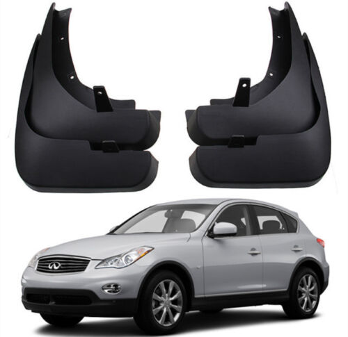 New Genuine OEM Splash Guards Mud Guards Flaps For 2010-2017 Infiniti EX35 QX50