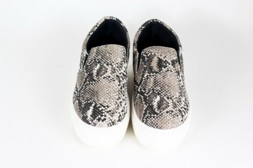 Details about  /NEW Qupid Royal Brown Snakeskin Platform Slip On Sneakers Sz 8.5