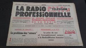 Diario-Mensual-La-Radio-Profesional-N-189-Novembre-1950-ABE