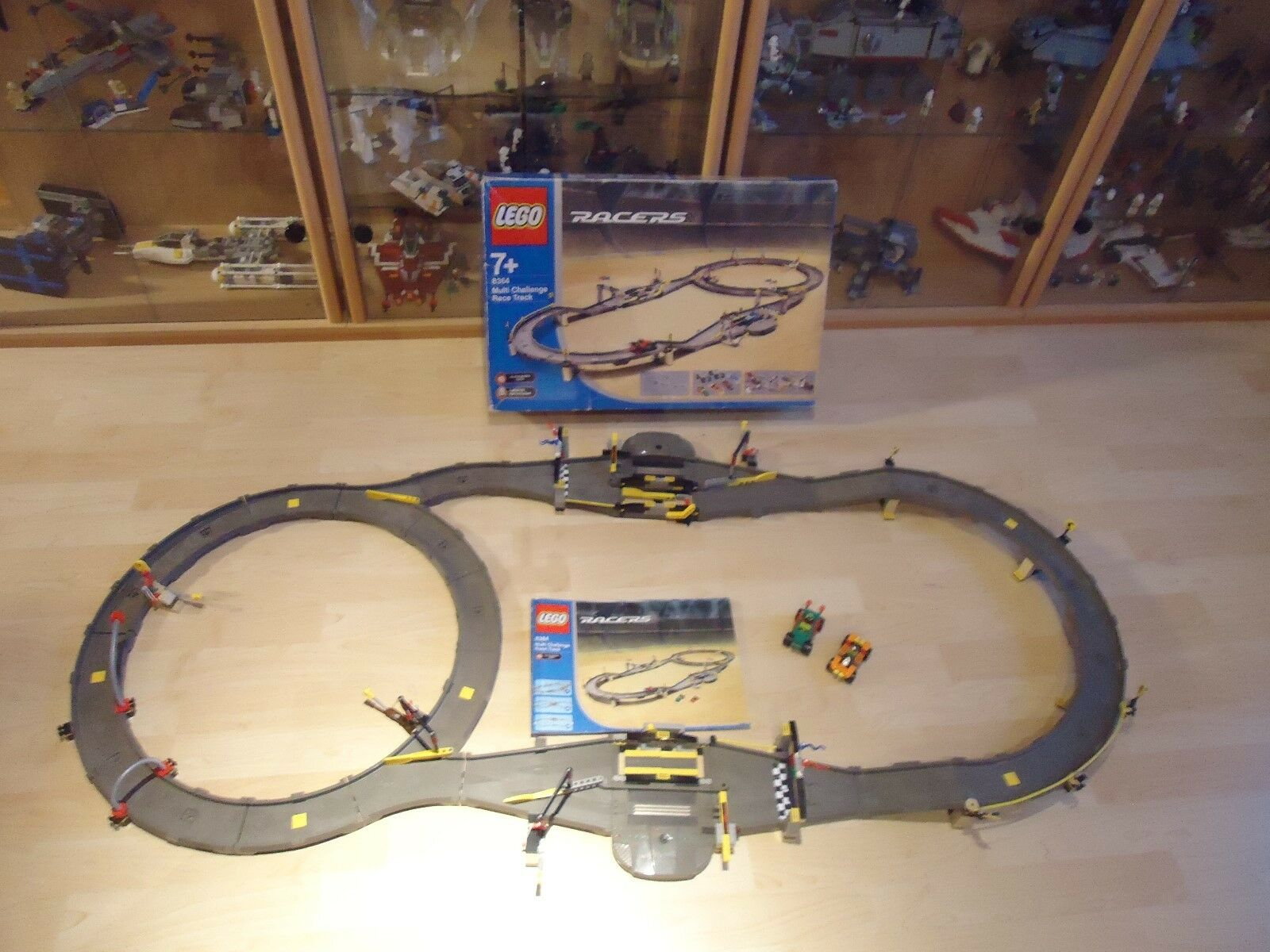 LEGO Racers Multi-Challenge Race Track (8364) (8364) (8364) OVP mit Anleitung 493ccf
