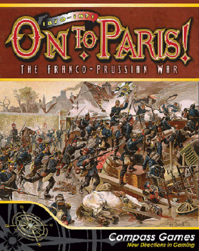 1870-1871 su Paris - The Franco - Prussiani Guerra - Compass Games