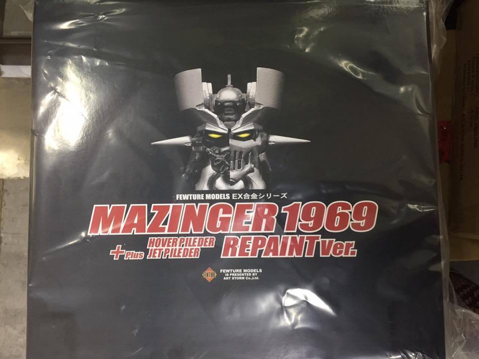 FEWTURE EX GO  NAGAI 1969 MAZINGER Z repeindre action figure diecast version 2017  des prix moins chers