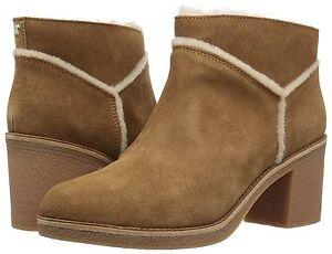 femmes aiguilles nouveau Chaussures daim talons Bottines Chestnut Kasen Ugg pour en à 1018644 CSSWx5f
