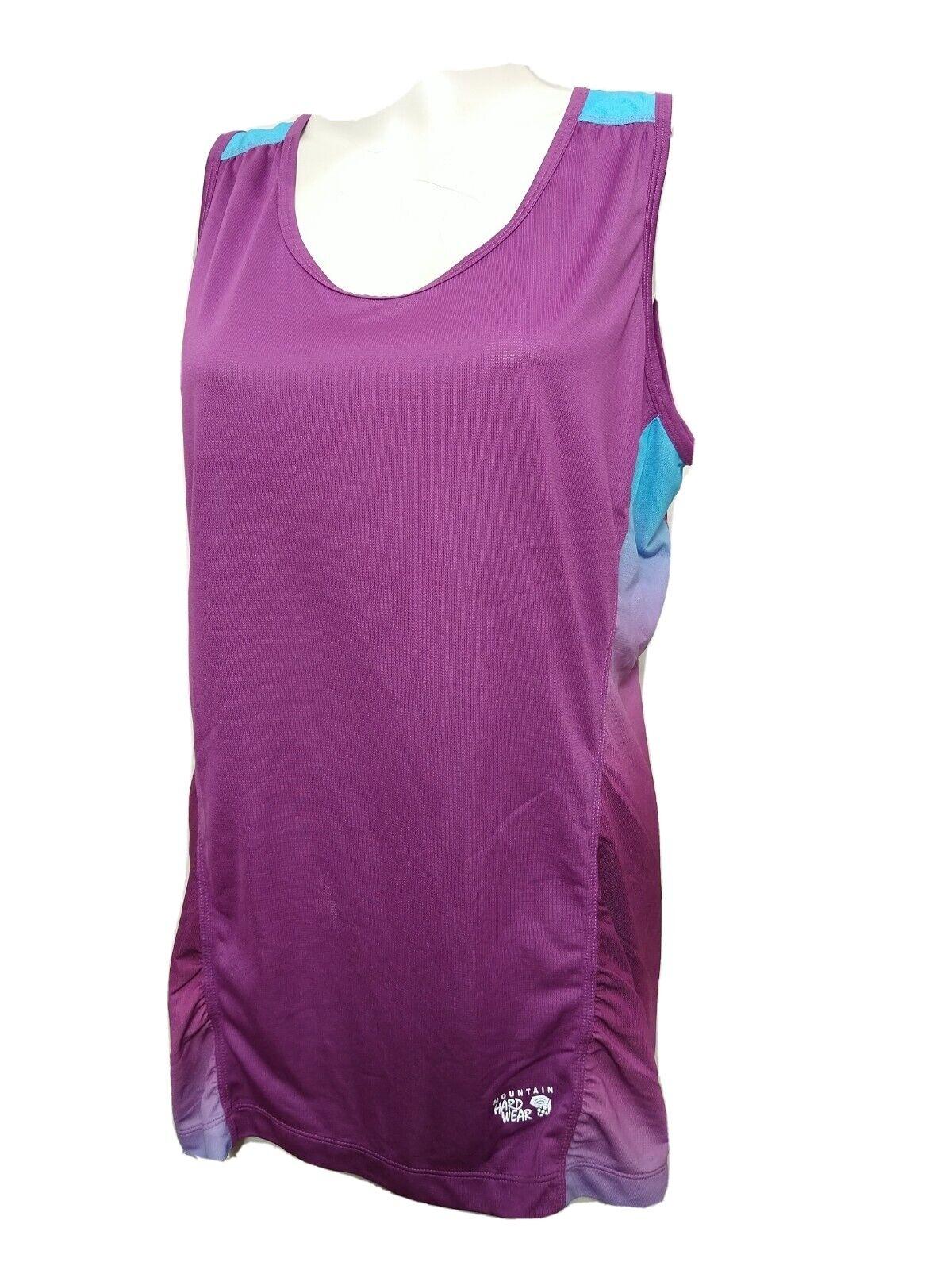 Mountain Hardwear WOMEN Large Sleeveless Scoop-neck Athletic Tank (#P3