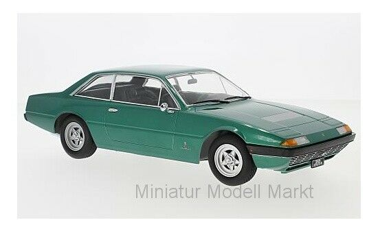 KK-Scale Ferrari 365 GT4 2+2 - metallic-green - 1972 - 1 18