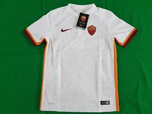 release date f5fcc 8c9f9 Details zu AS Rom Trikot Away 2015/16 Nike Größe Boys S M -NEU- Kinder Roma