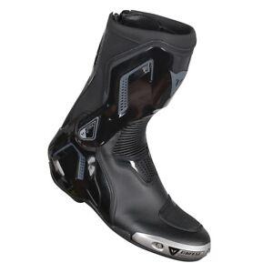 Renn-Stiefel-Dainese-Gr-44-schwarz-grau-Torque-D1-out-Sport-Stiefel-Motorrad-NEU