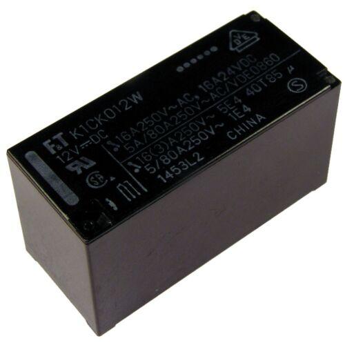 FUJITSU PRINT-Relais ftr-k1ck012w 12 V DC 1xum 16 A 360r Power Relay 855137