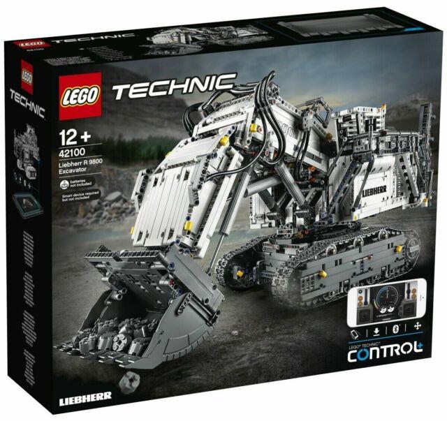 Lego Technique 42100 Liebherr Pelleteuse R 9800 - Neuf / Emballage D'Origine