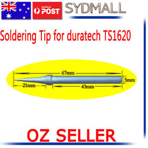 SOLDER SOLDERING IRON STATION Tip for DURATECH B TS-1620 TS-1622 RHINO 40W