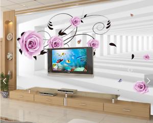 3D Squid Aisle 4079 Wallpaper Murals Wall Print Wallpaper Mural AJ WALL UK Carly