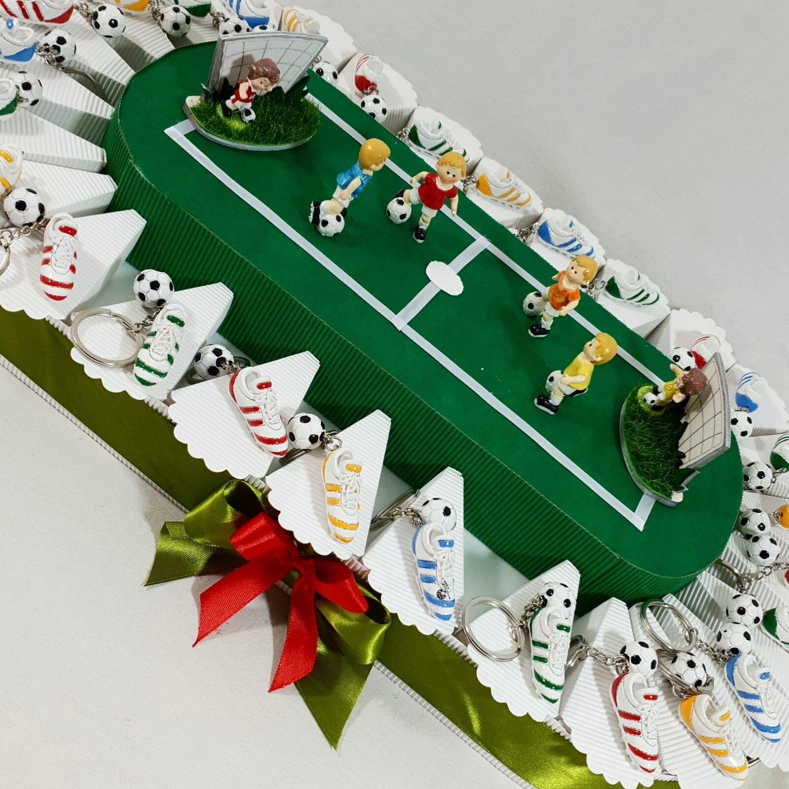 TORTE Bomboniere STADIO calciatori ITALIA calcio cresima e comunione COMPLEANNO