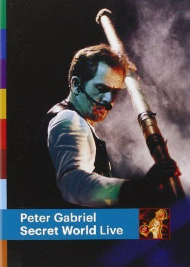 Gabriel, Peter - Secret World Live + BONUSTRACK DVD NEU OVP