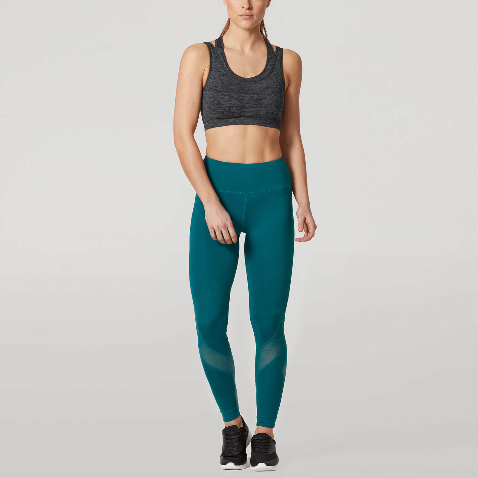 MyProtein CORE Damen Damen CORE Leggings Türkis Leggins My Protein lang long teal ea9d89