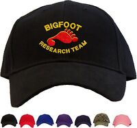 Bigfoot Research Team Baseball Cap - Available In 7 Colors - Hat Sasquatch