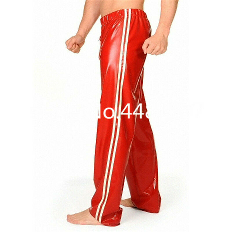 387 Latex Rubber Gummi loose Bloomers Pants Trousers customized joggings 0.4mm