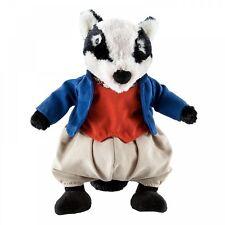 Gund Beatrix Potter Tommy Brock (Badger) Peluche giocattolo morbido nuovo 26190
