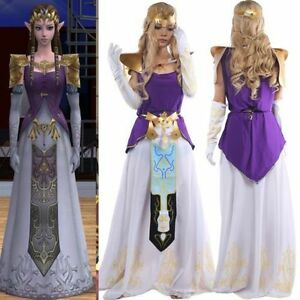 Details About Game Anime The Legend Of Zelda Twilight Princess Cosplay Costume Dress For Party
