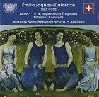mile Jaques-Dalcroze: Janie; 1914 (Impressions Tragiques); Tableaux Romands (CD, Apr-2016, Sterling)