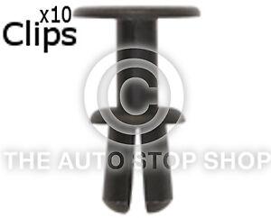12645bm Pack of 10 Clips Plastic Rivets 7,8 A 8,8 MM BMW 5 Series Part No