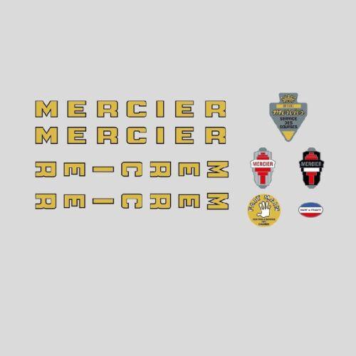 Decals Transfers n.02 Mercier Bicycle Frame Stickers