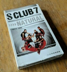 S-Club-7-Cassette-Single-Natural-BRAND-NEW-amp-SEALED-AUDIO-CASSETTE