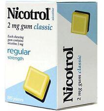 Johnson & Johnson Pacific Nicotrol Classic 2mg Nicotine Gum 630 Pieces
