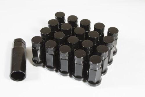 Extendido GT50 C Tuercas de Rueda Negro X 20 12x1.5 se adapta a Ford