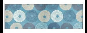 Schmutzfangmatte Wash fussmatte schmutzfangmatte wash blau kreise 60 x 180 cm