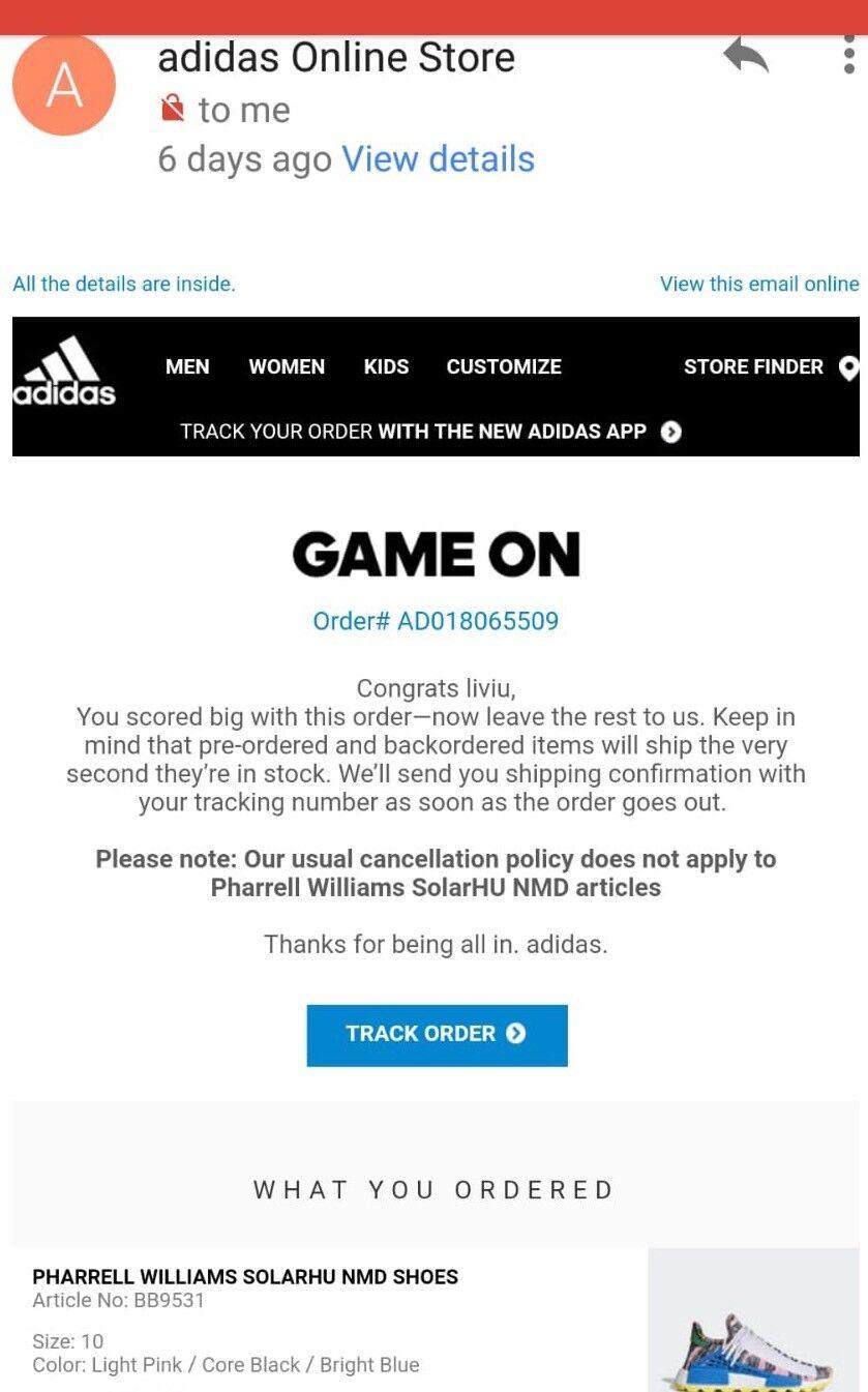 Adidas Adidas Adidas Pharrell Williams Solare Hu Nmd e9a6f7