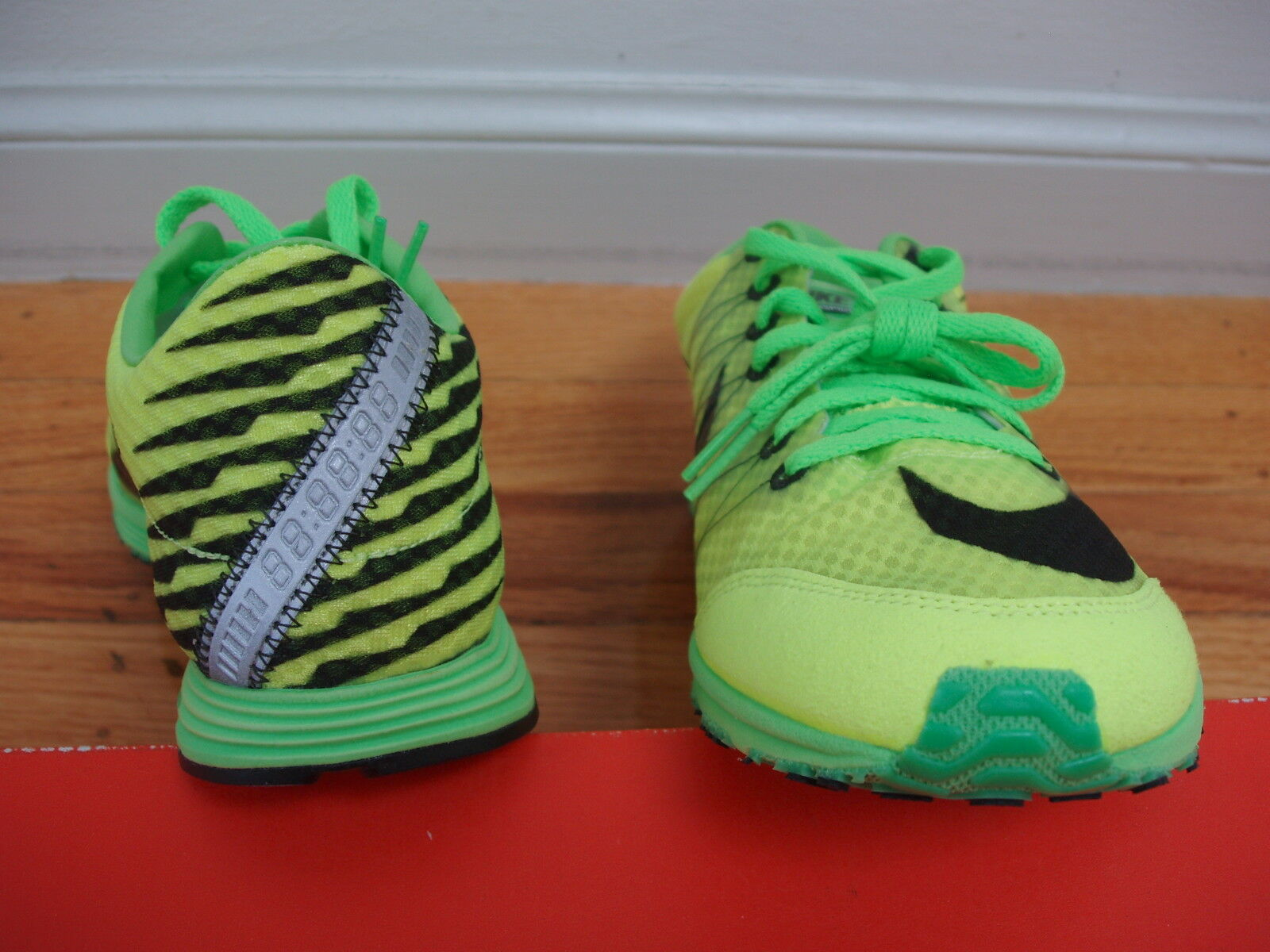 outlet store d74d1 ac1f4 ... New flaw Nike Lunarspider R3 running shoes mens mens mens 8  womens 9.5  neon ...