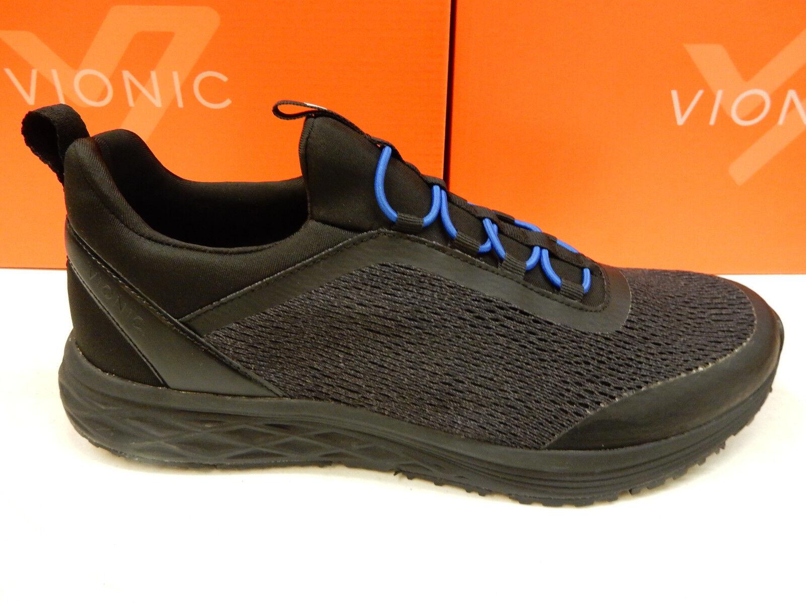 Vionic Mens Morris Active Sneaker Black Size 11.5