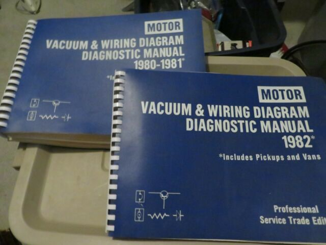 Motor 1982 Auto Repair Manual Professional Trade Service Edition Wiring Diagram
