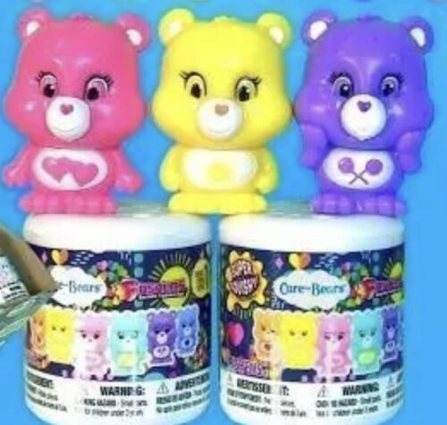 X2 Care Bear Fashems  series 1 Super Squishy Collectable NEW SURPRISE NIB MINT