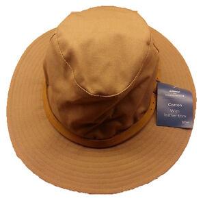 Marks Spencer Sand Sun Hat Teflon Mens Large 59-60cm Euro 4 M&s Buy 2 Get 1 Free GroßE Sorten Kleidung & Accessoires