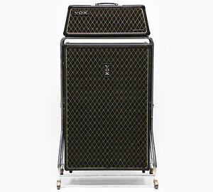 1960s vox beatle super reverb v1143 vintage electric bass guitar amp v4141 cab ebay. Black Bedroom Furniture Sets. Home Design Ideas